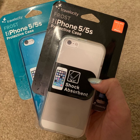 Two iPhone 5/5S/SE new phone cases